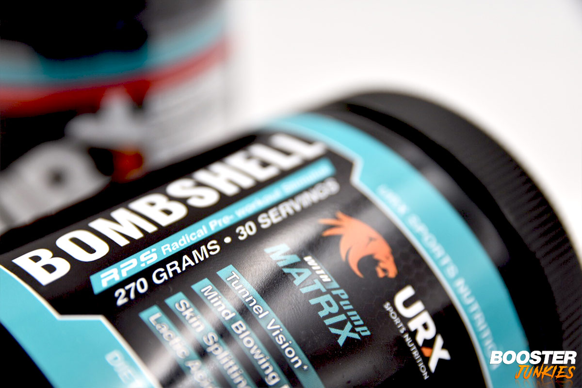 Photo of URX Sports Nutrition BOMBSHELL DMHA im Test